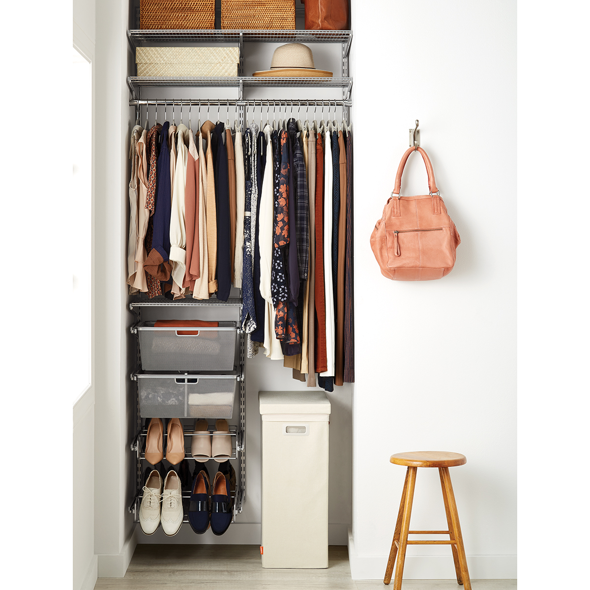 Platinum Elfa Small Space Closet ...