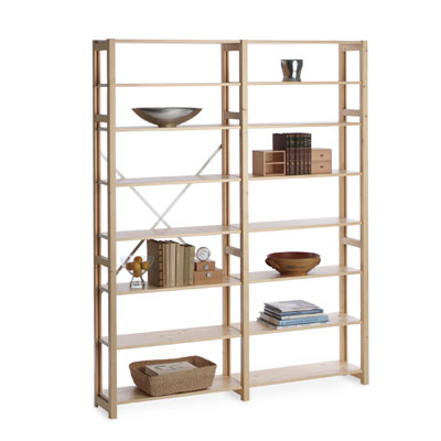 skandia simple shelving the container store rh containerstore com simple wooden shelves plans simple wooden shelving unit with no back