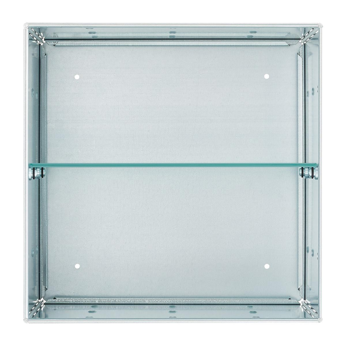 Frosted Glass QBO Shelf | The Container Store