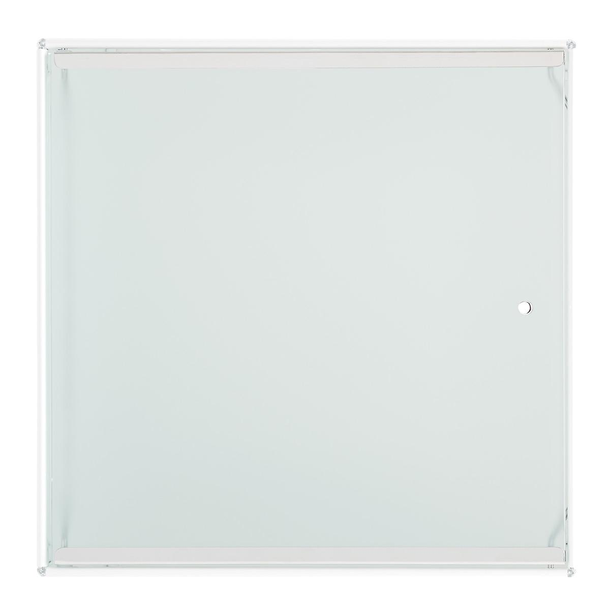 Frosted Glass Qbo Door The Container Store