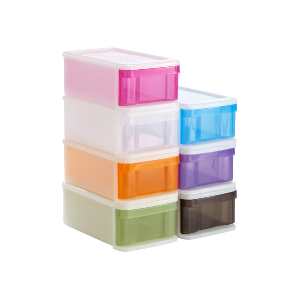 Small Tint Stacking Drawer ...  sc 1 st  The Container Store & Small Tint Stackable Drawer | The Container Store