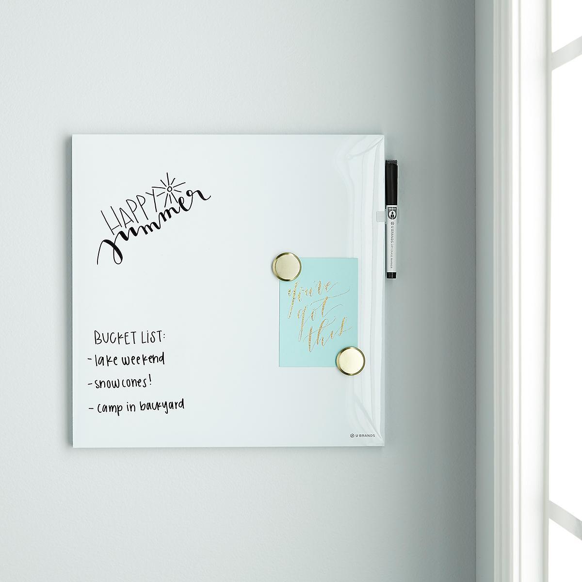 U-Brands White Square Dry Erase Board ...