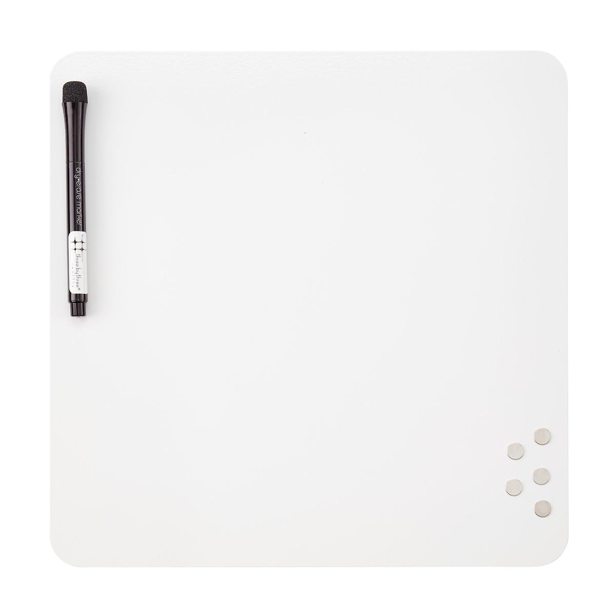 f26f7e78b59 Three by Three Square Magnetic Dry Erase Board