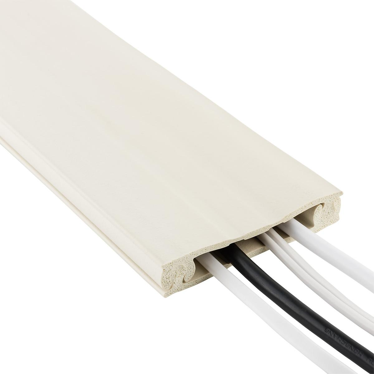8' Paintable Cordline Wall Cable Channel