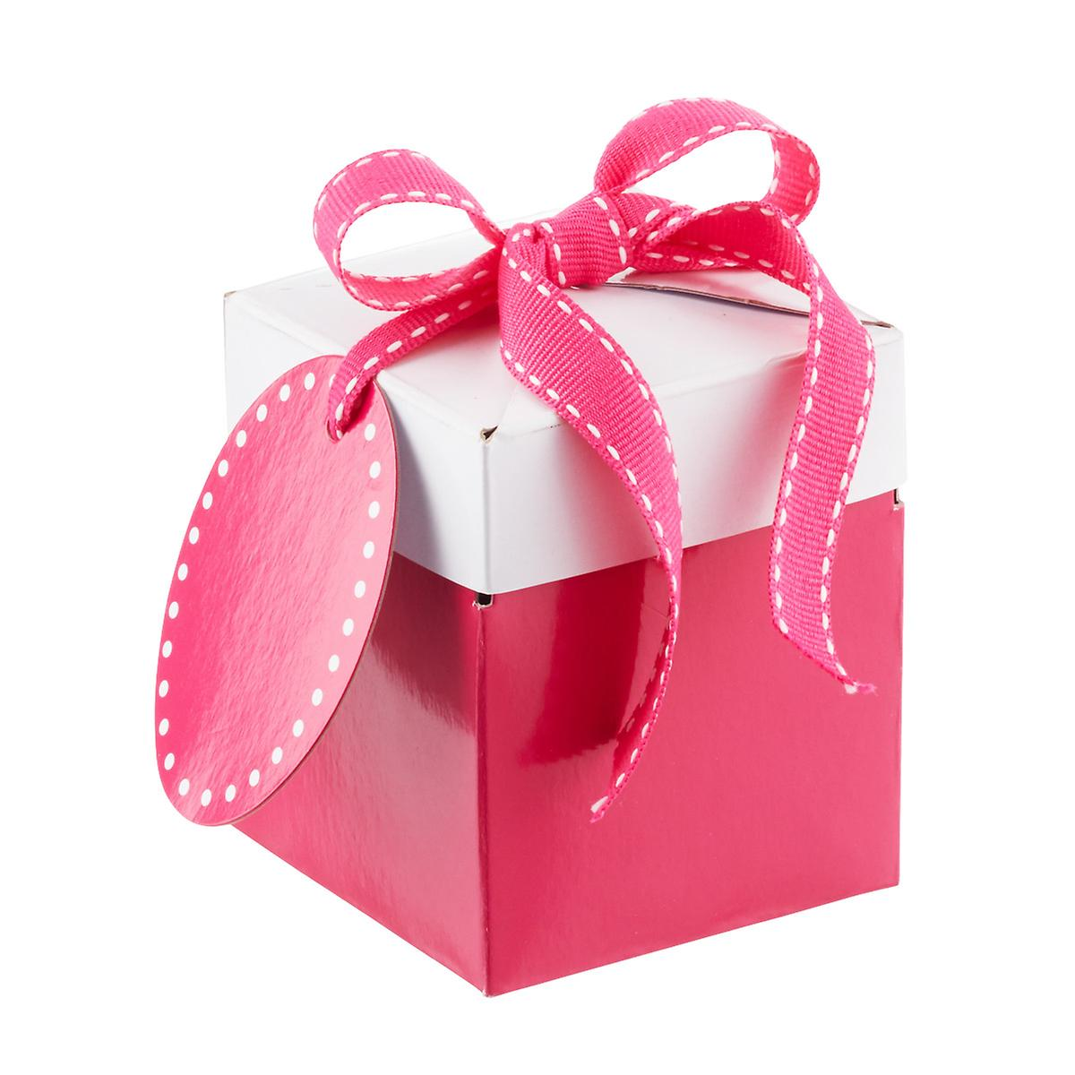 Pink Pop-Up Gift Boxes | The Container Store