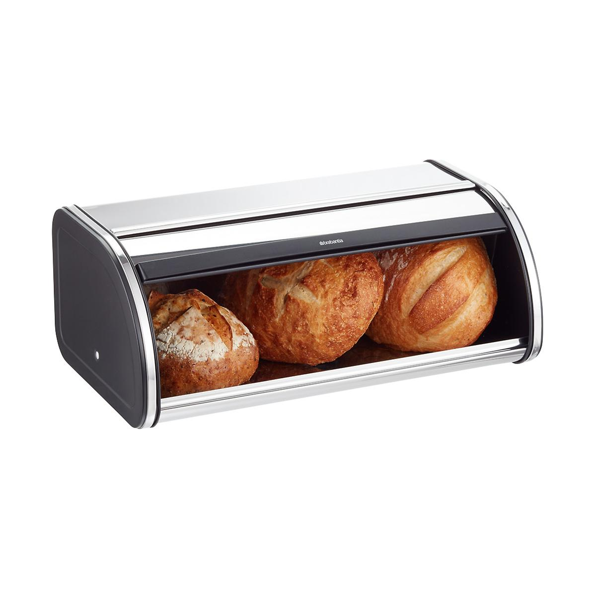 Bread Box Brabantia Chrome Bread Box The Container Store