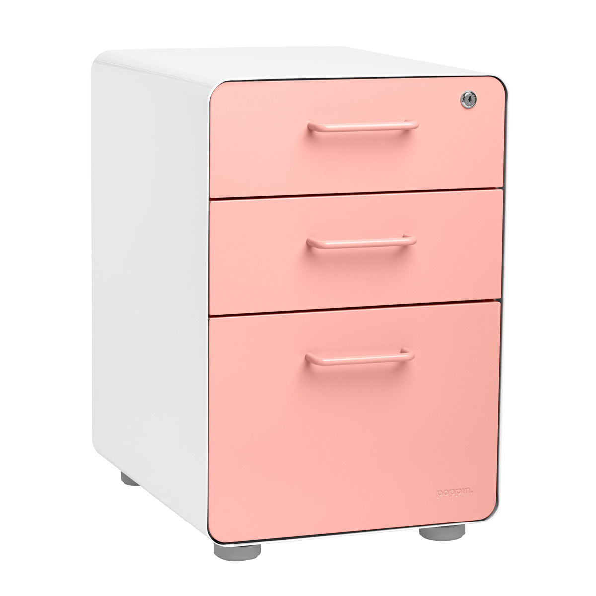 Charmant Poppin File Cabinet   White Poppin 3 Drawer Stow File Cabinet | The  Container Store