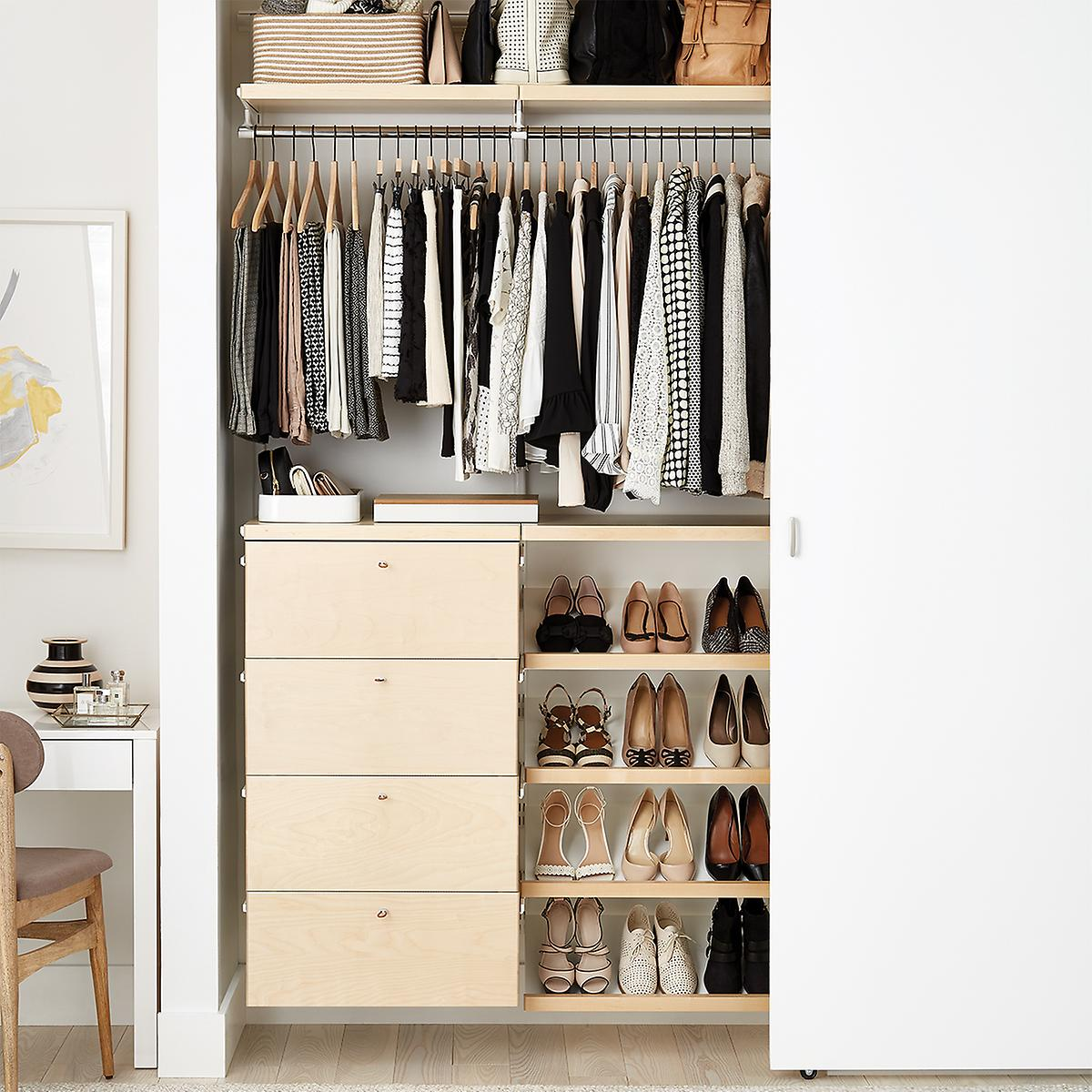 master walk clothes storage size spaces designs for door ideas pictures deep in closet of design plans layout medium reach diy bedroom small