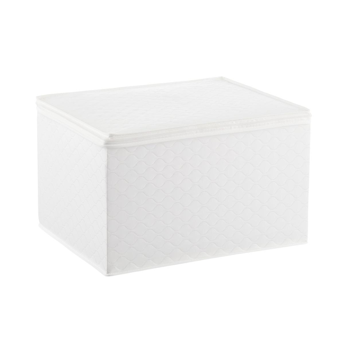 White Quilted Wine Glass Storage Case  &. Roll over to zoom