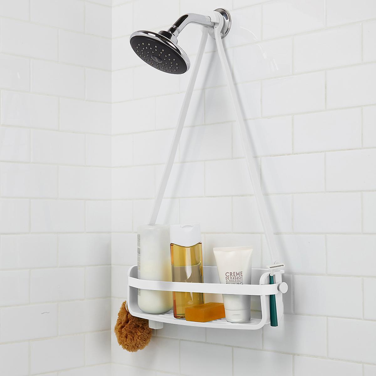Umbra Flex Single Shelf Caddy | The Container Store