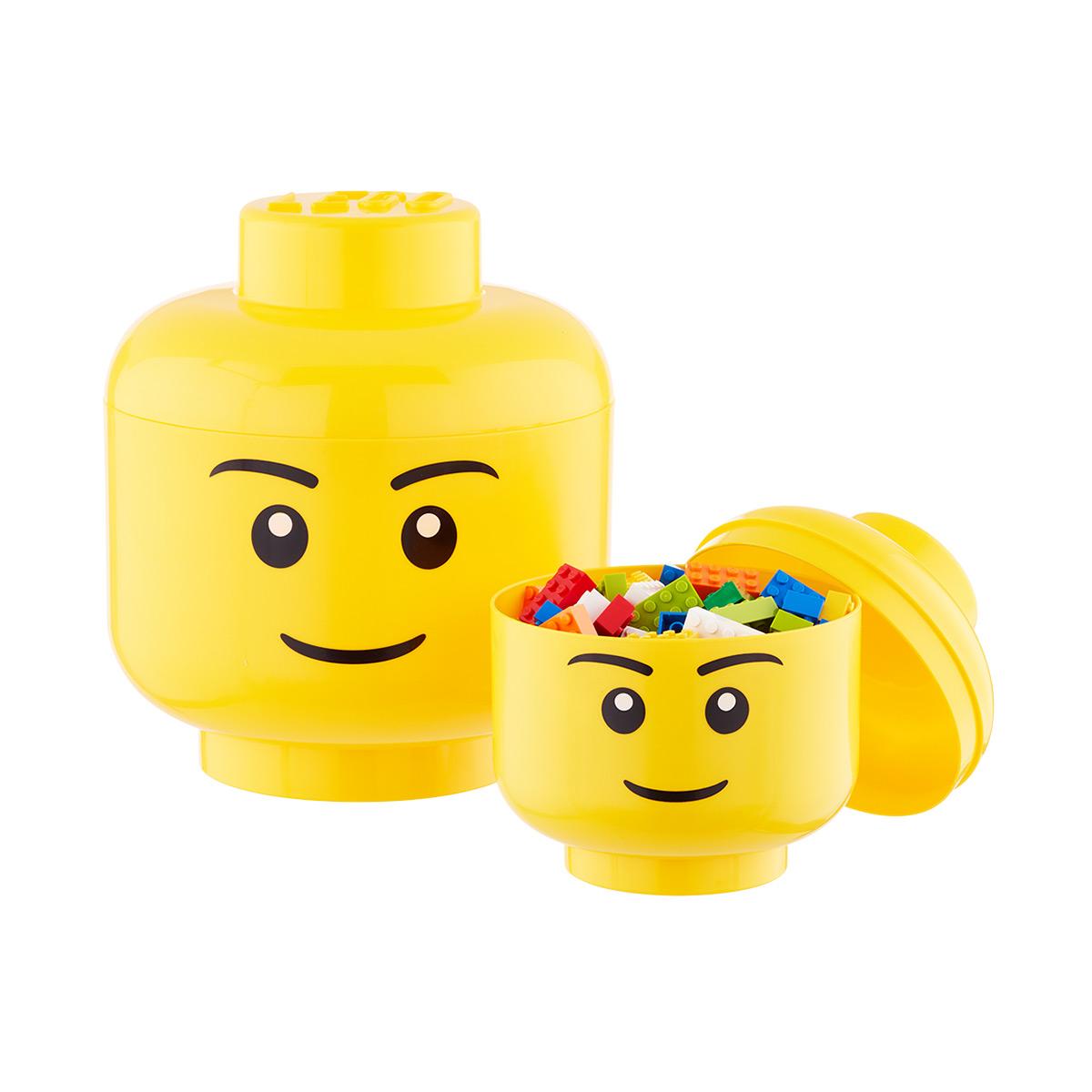 Lego Storage Heads ...