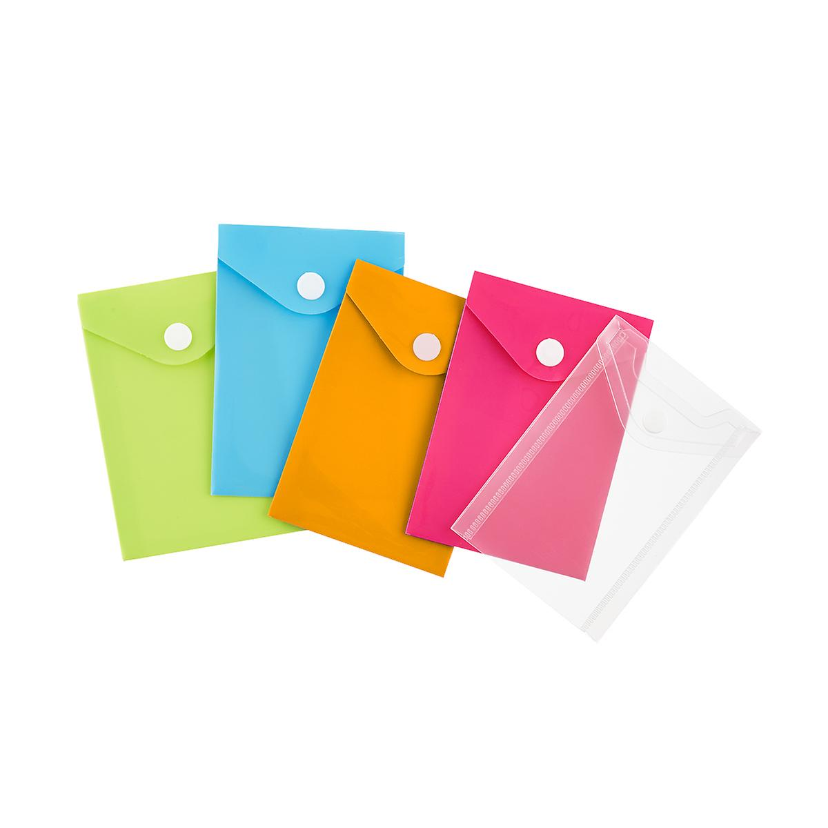 Business card snap pouch the container store business card snap pouch colourmoves