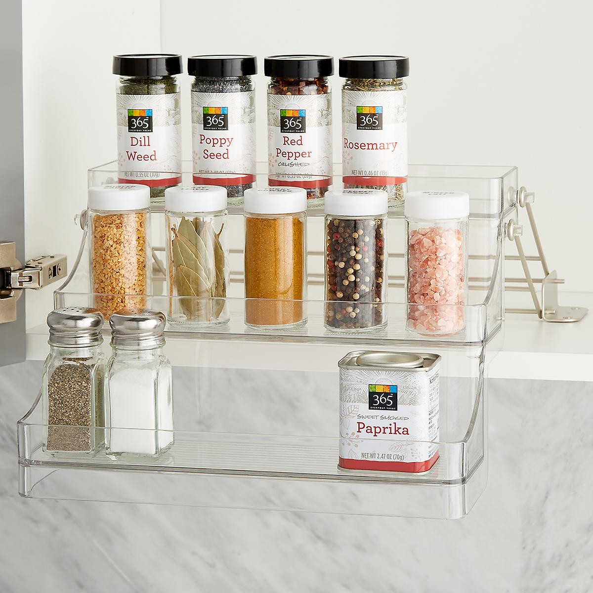 Interdesign Linus Easy Reach Spice Rack The Container Store