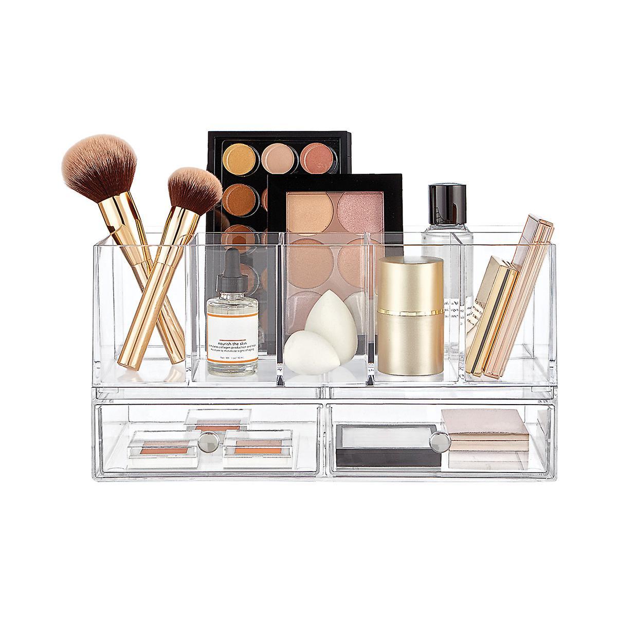 ee0cb9914757 InterDesign Clarity Stackable Makeup System