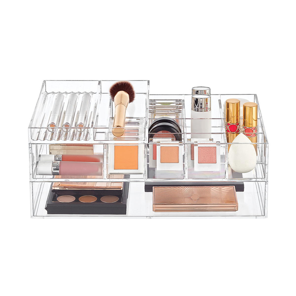 Clear Acrylic Makeup Storage Starter Kit ...