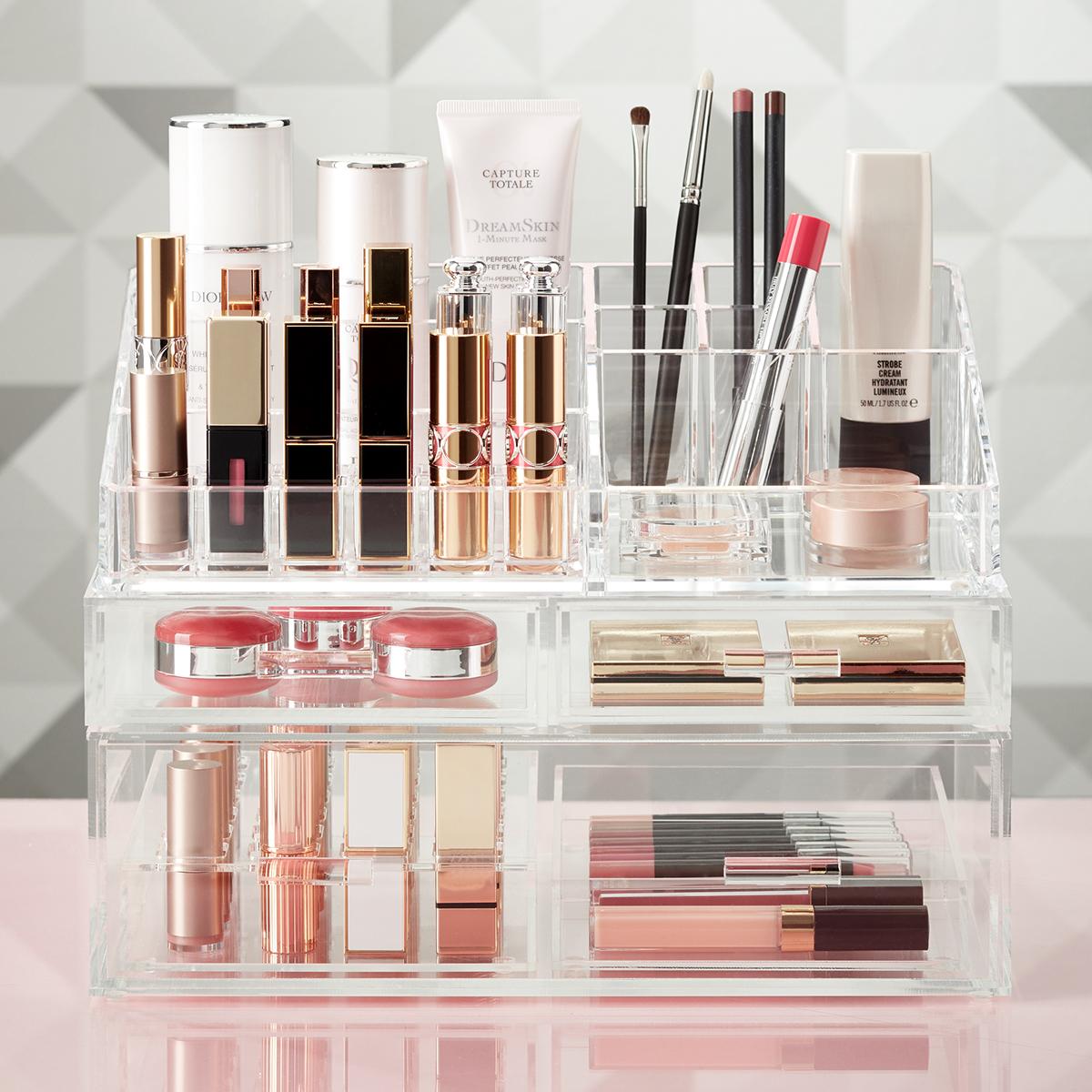 Make Up Storage Storage Designs. Makeup Organizers ...