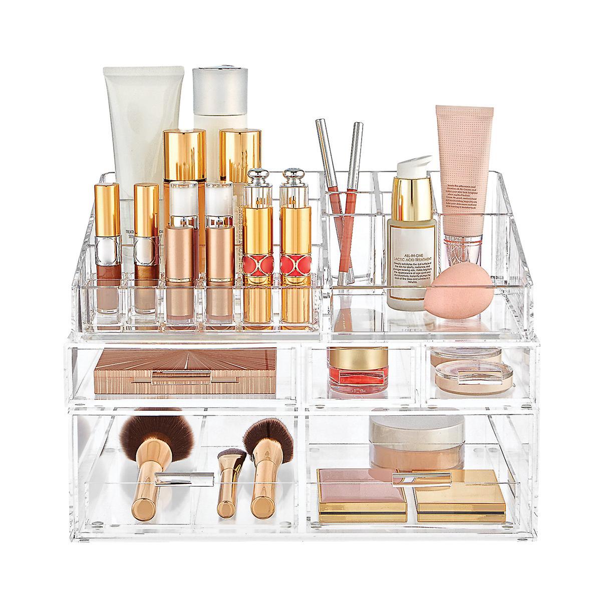 Luxe Acrylic Lipstick & Makeup Storage Starter ...