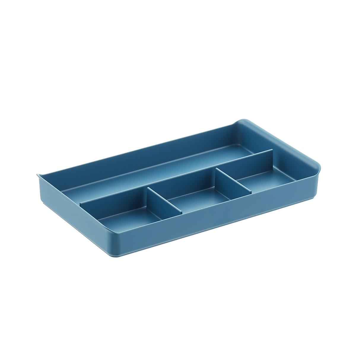 Slate Blue Poppin File Cabinet Organizer The Container Store