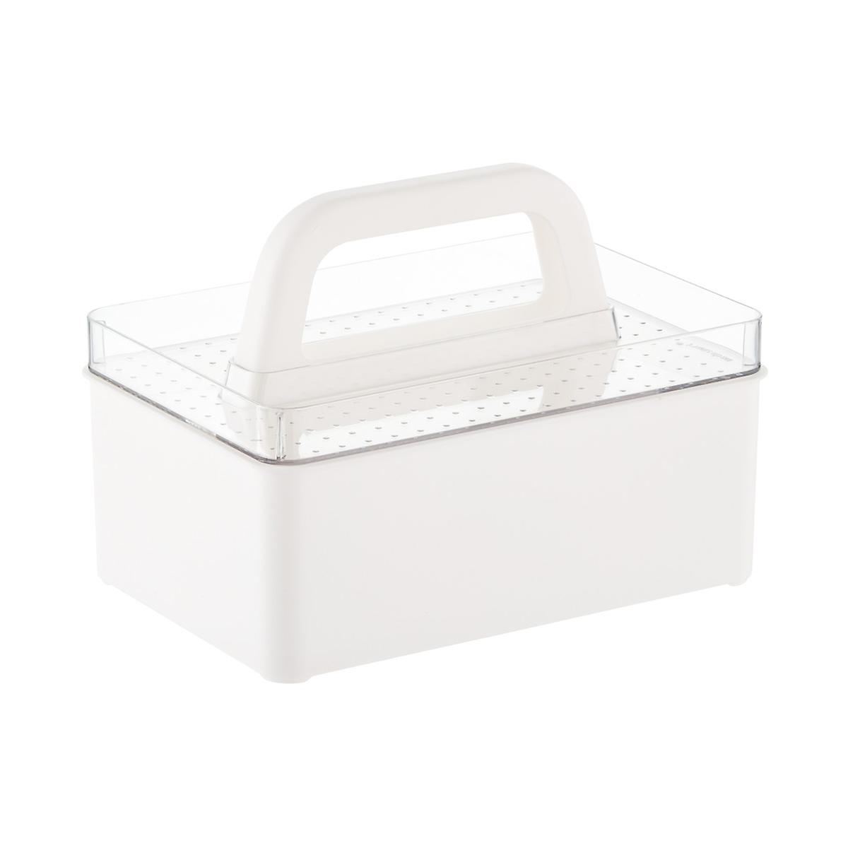 madesmart Stacking Bath Caddy Storage Kit | The Container Store
