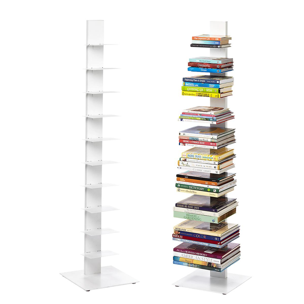 newest 94dc9 c6a4d White Floating Bookshelf