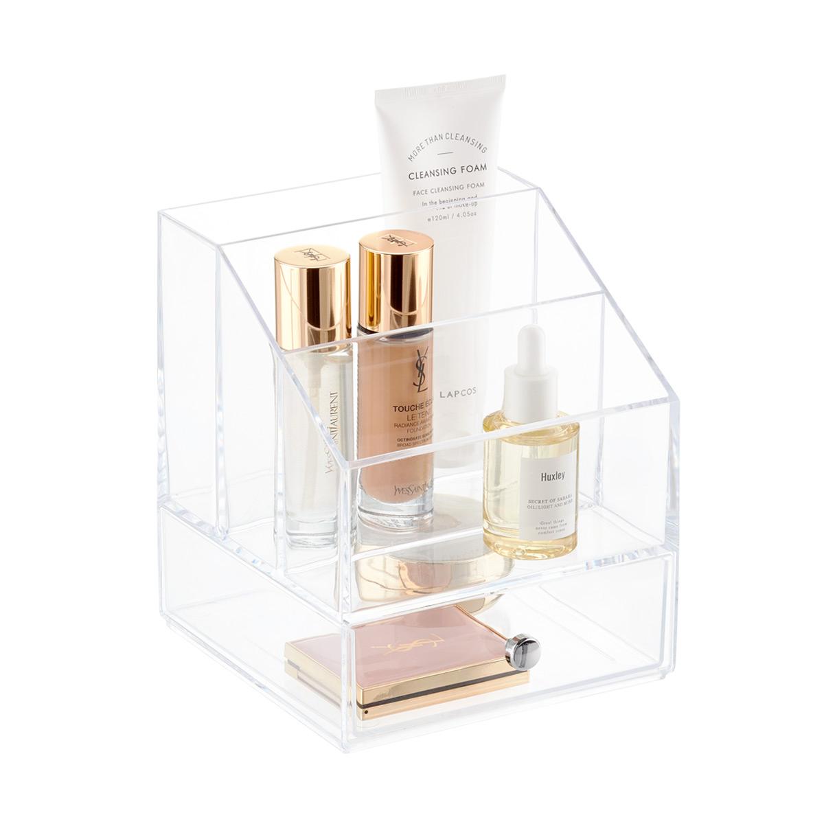 iDesign Clarity Cosmetics \u0026 Palette Organizer with Drawer