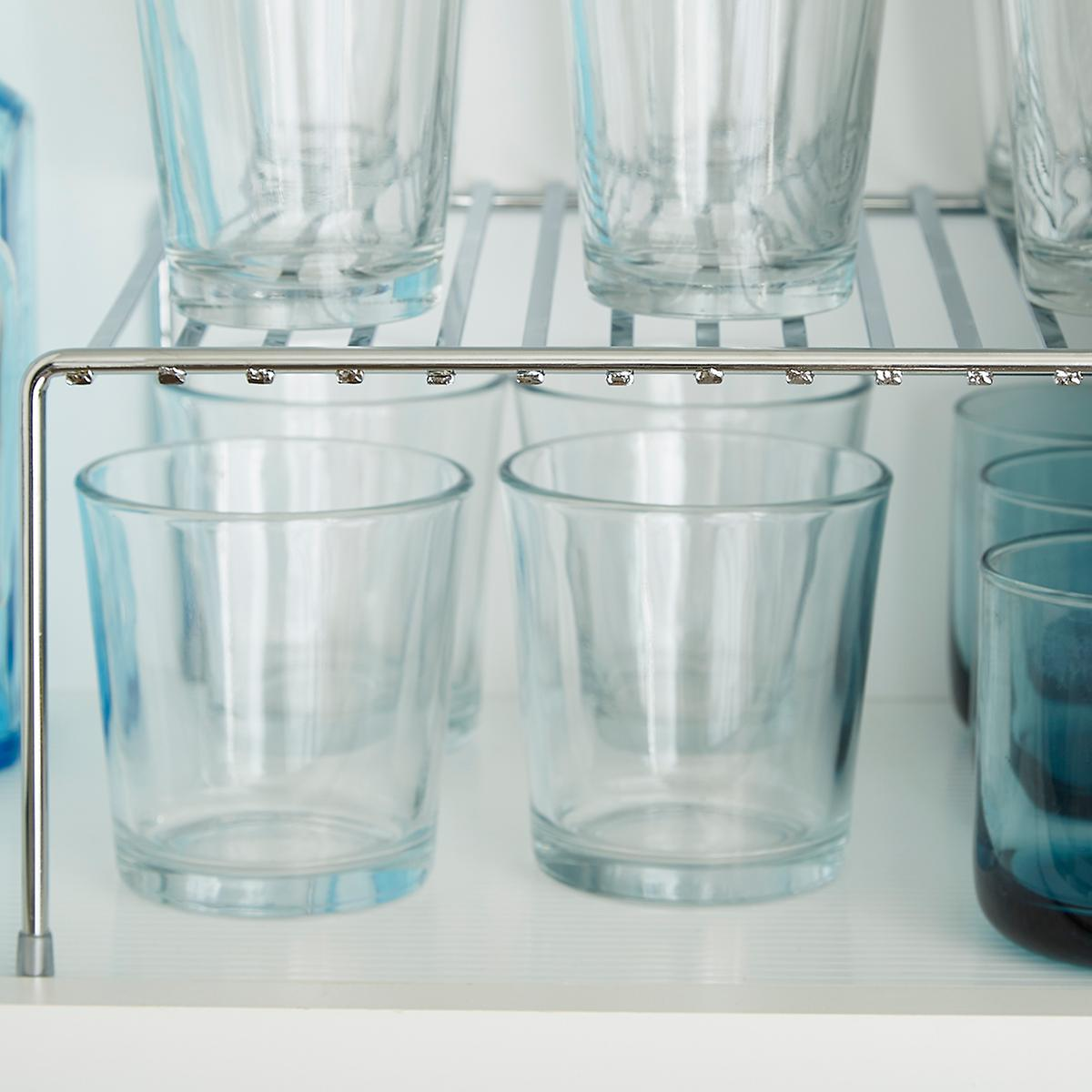 Chrome Cupboard Shelf | The Container Store
