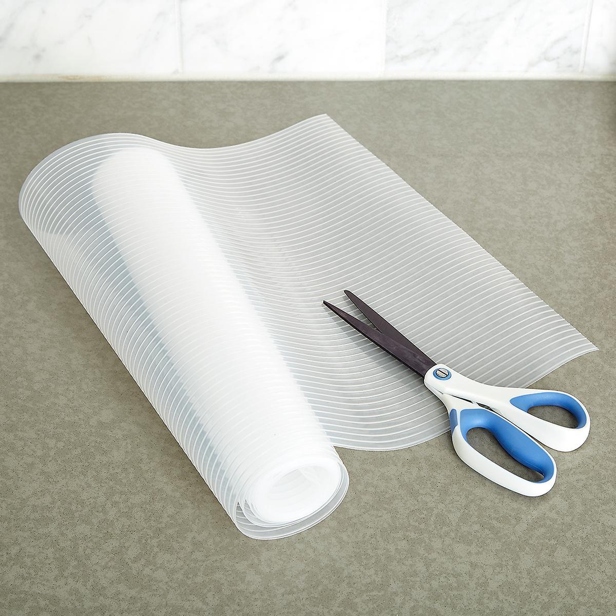 Drawer Amp Shelf Liner Clear Plast O Mat Ribbed Shelf