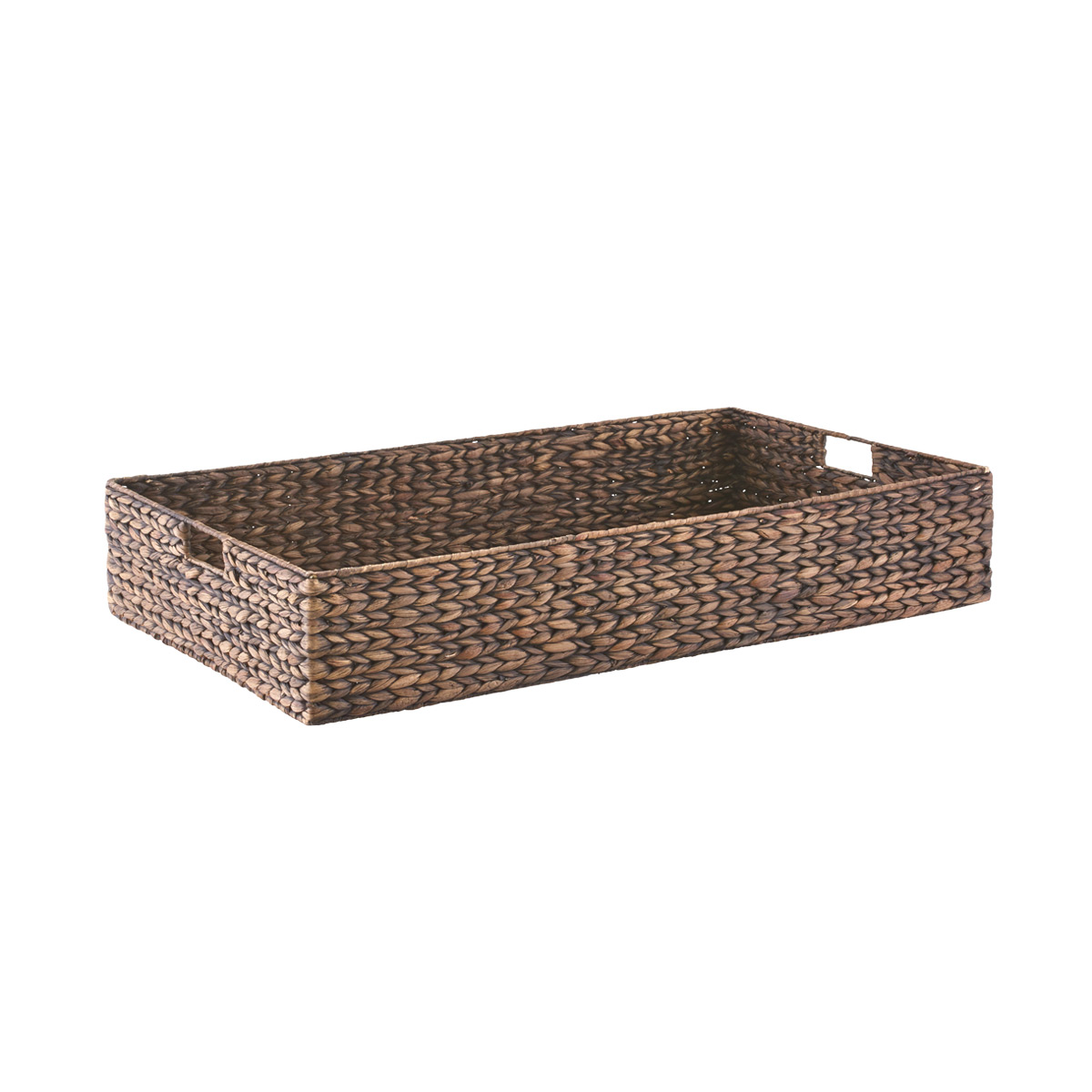 - Mocha Water Hyacinth Coffee Table/Under Bed Bin The Container Store