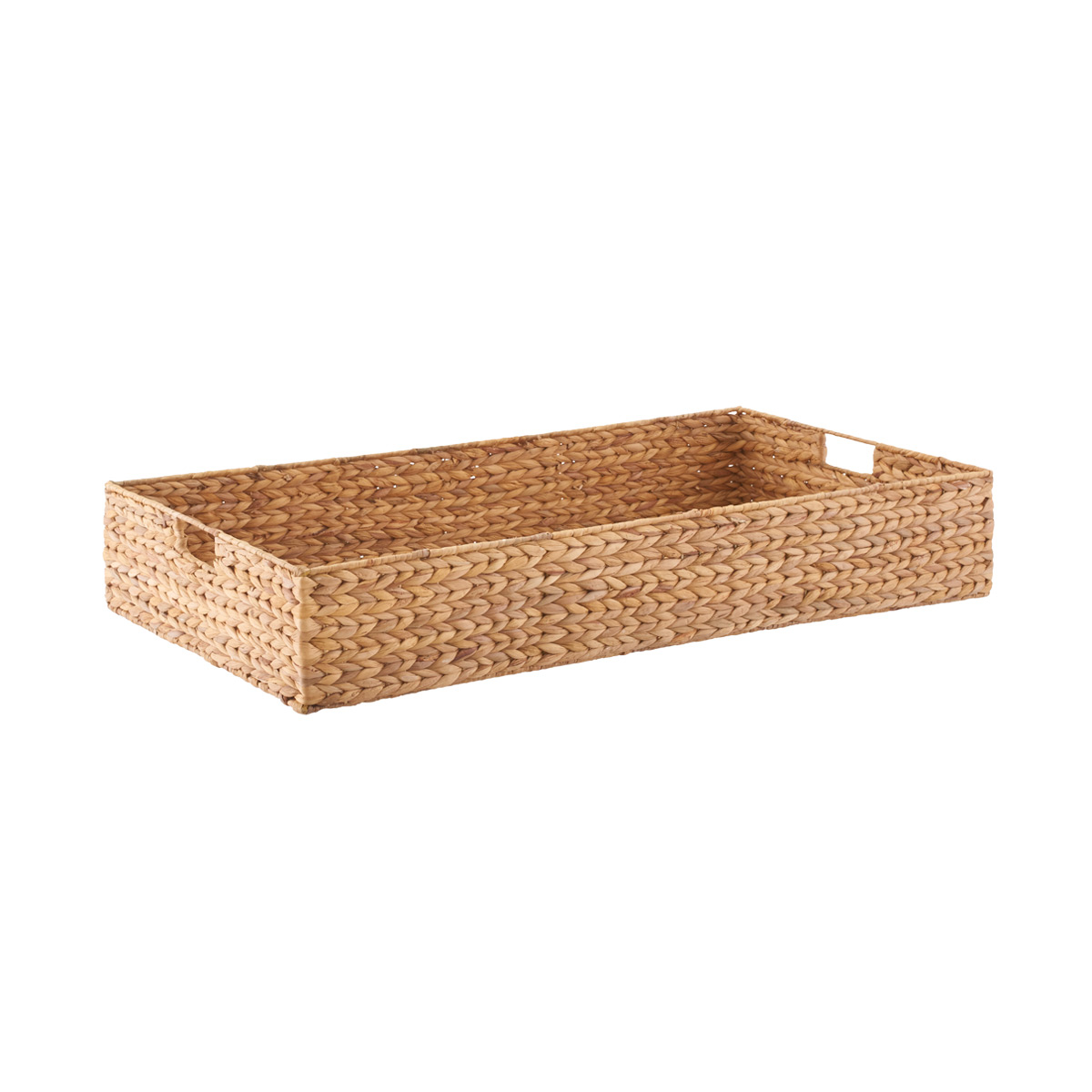 Picture of: Water Hyacinth Coffee Table Under Bed Bin The Container Store