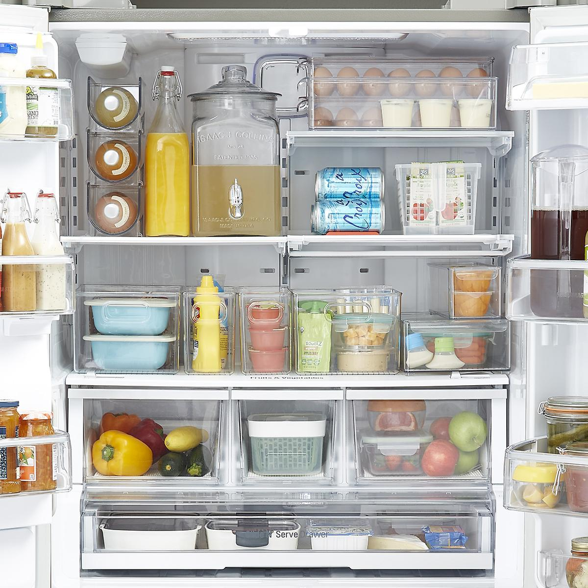 Fridge Organization Starter Kit The Container Store