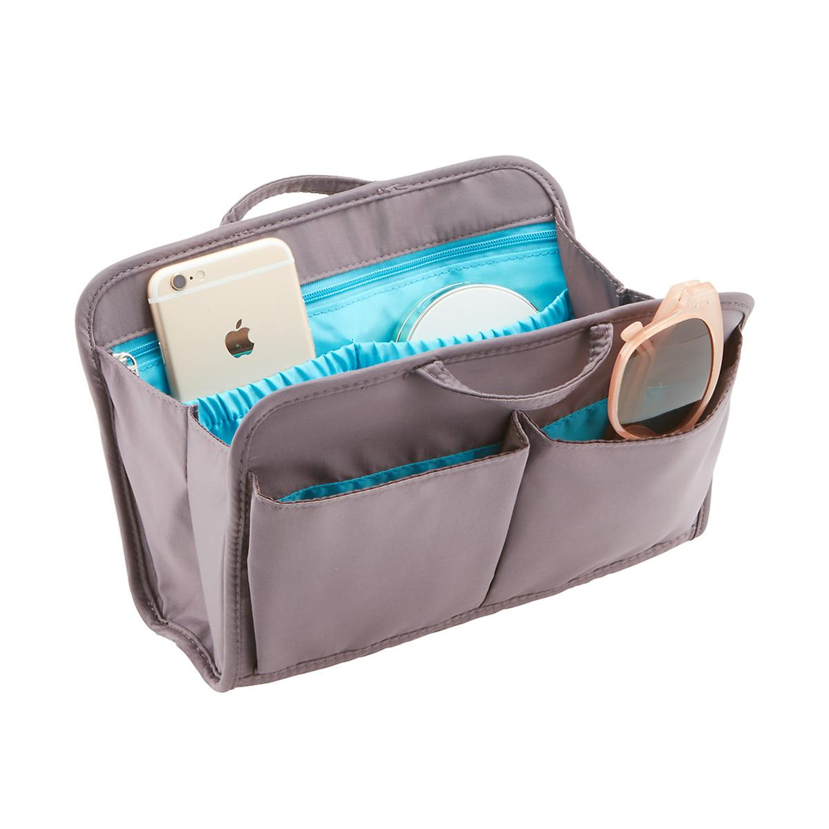 Travelon Pewter Rfid Blocking Purse Organizer