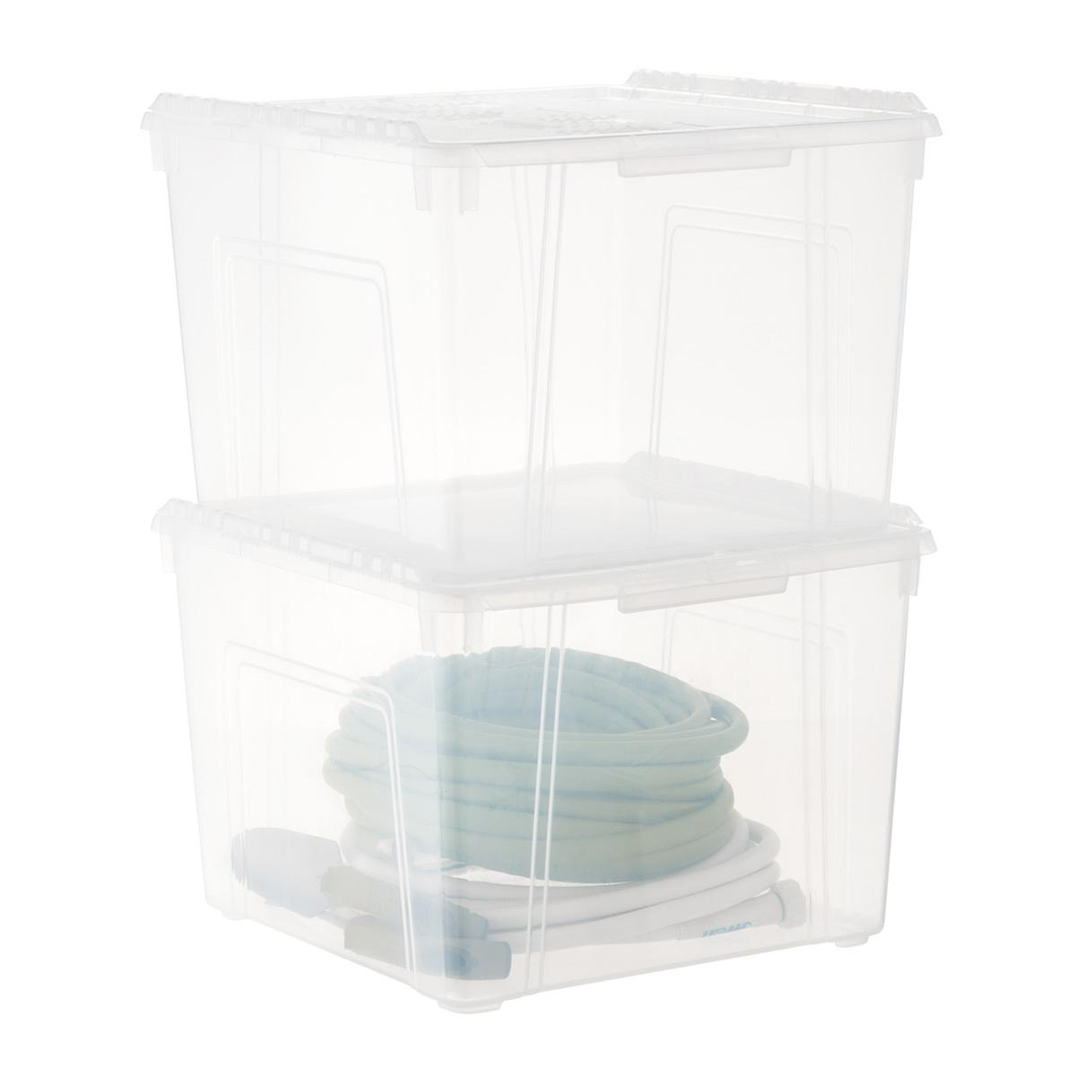 Iris Wing-Lid Storage Box | The Container Store