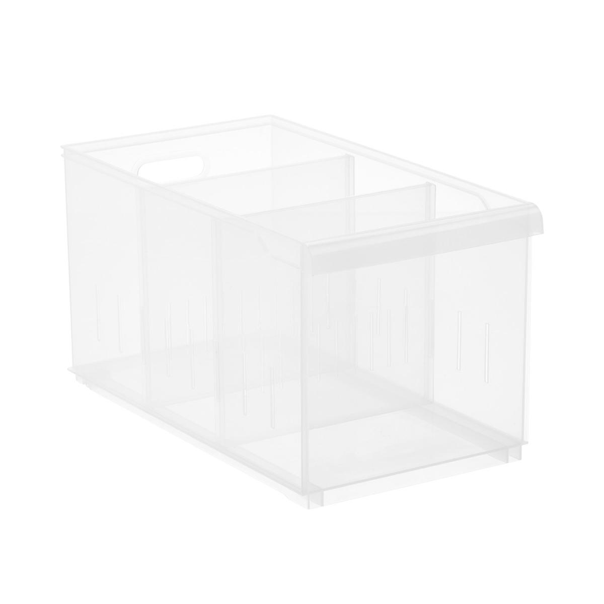 Clear Stackable Plastic Storage Bins The Container Store
