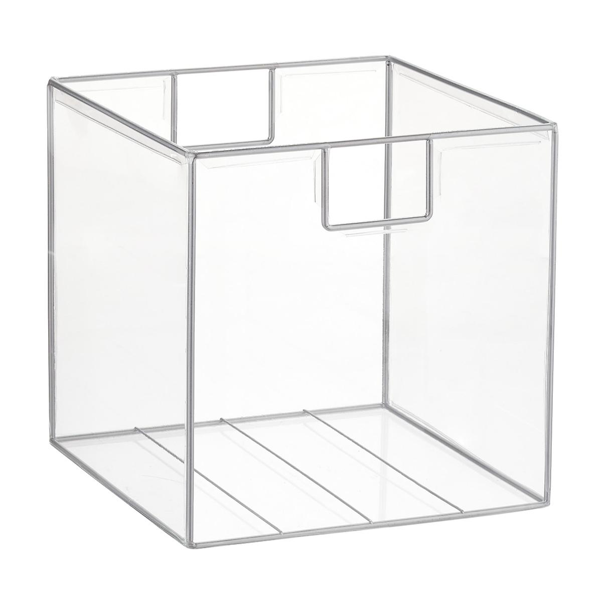 Clear Lookers Cubes The Container Store