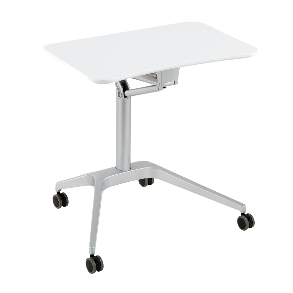 adjustable standing desk the container store rh containerstore com standing desk adjustable height standing desk adjustable keyboard tray