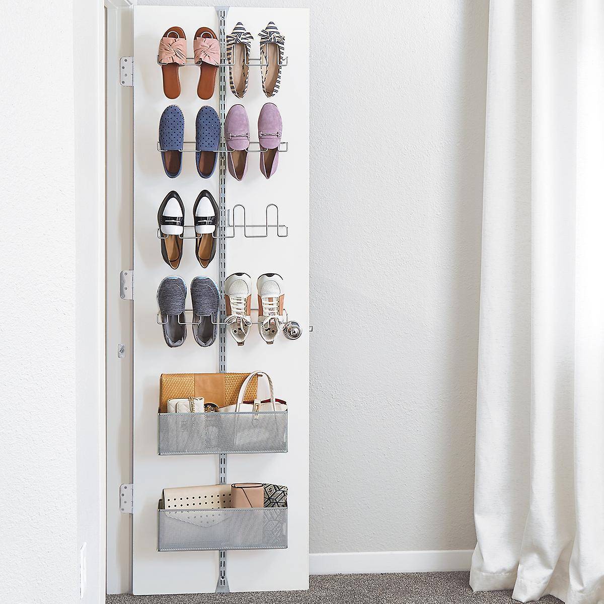 Elfa Utility Shoe Storage Door Wall Rack