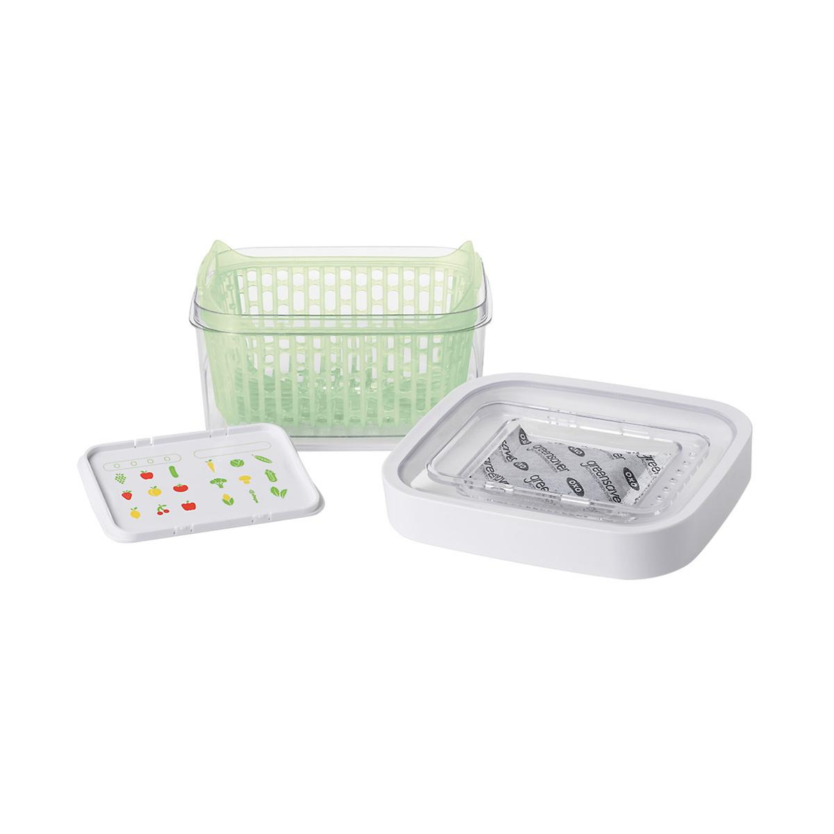Oxo Greensaver Produce Keepers The Container Store