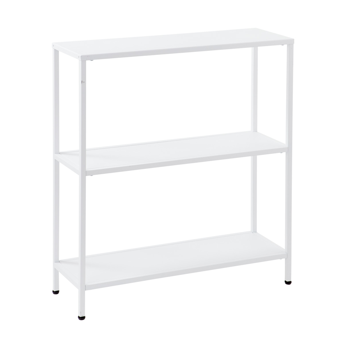 White Essence 3 Tier Console Table ...