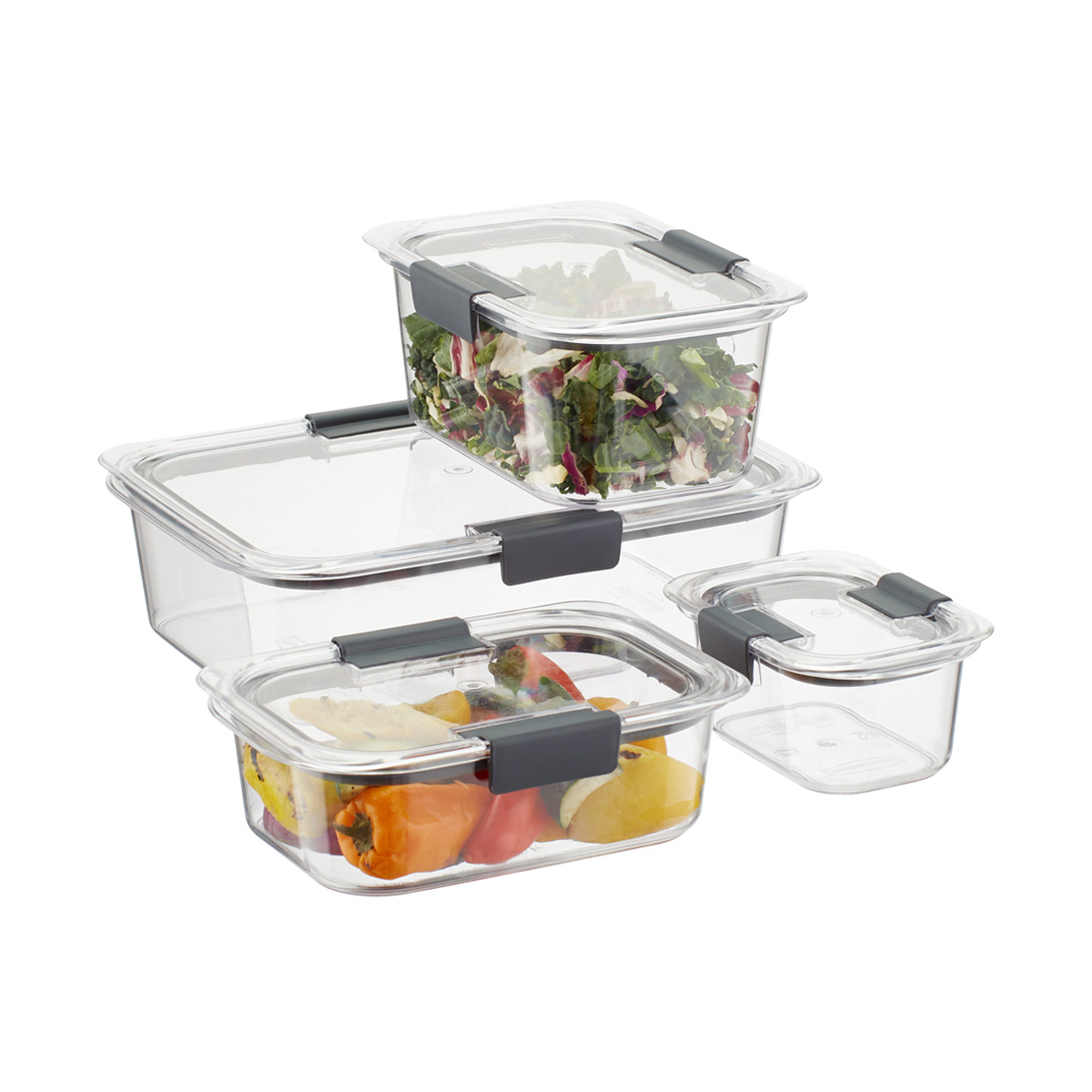 rubbermaid brilliance food storage containers the container store rh containerstore com