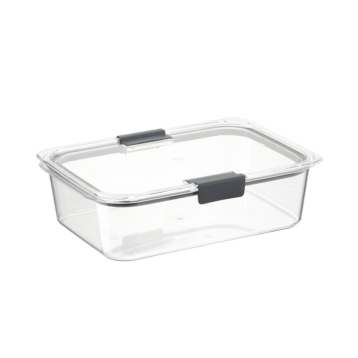Rubbermaid Brilliance Food Storage Containers The Container Store