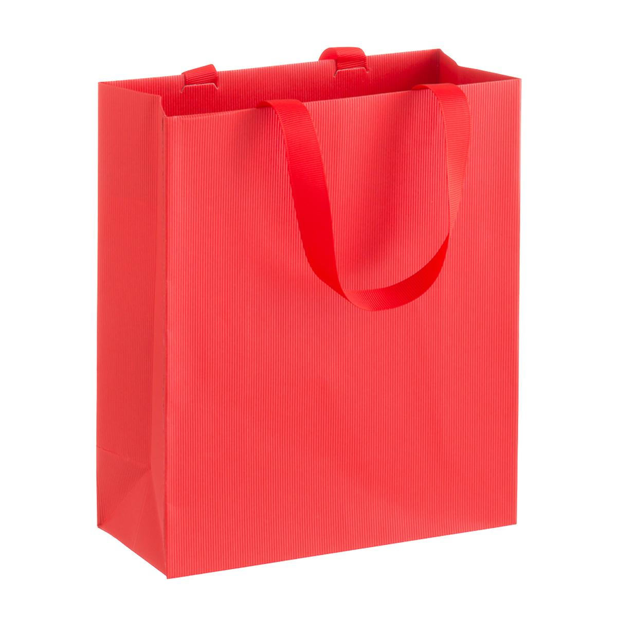 Solid Red Small Gift Bag | The