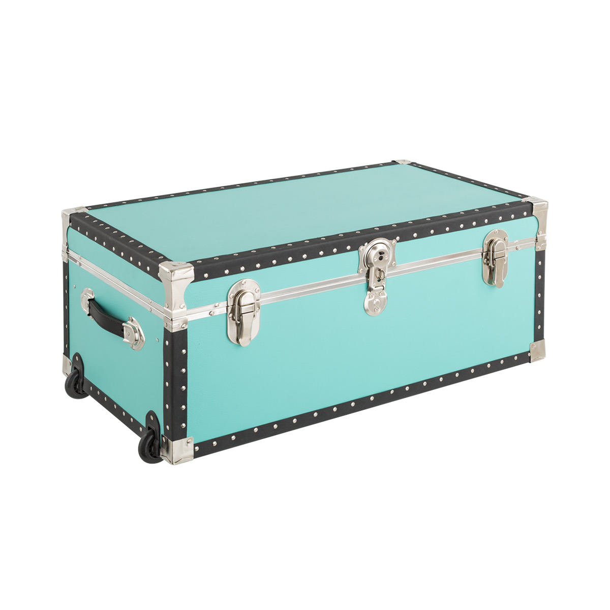 Superieur Aqua Rolling Trunk With Tray