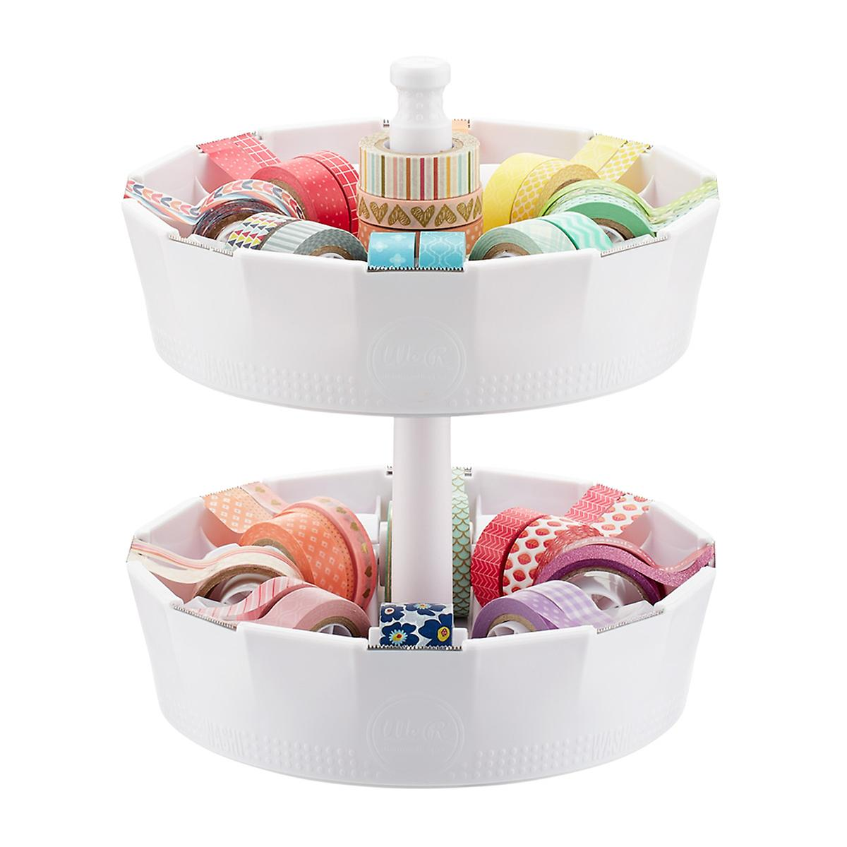 Stackable Washi Tape Dispenser Post The Container Store