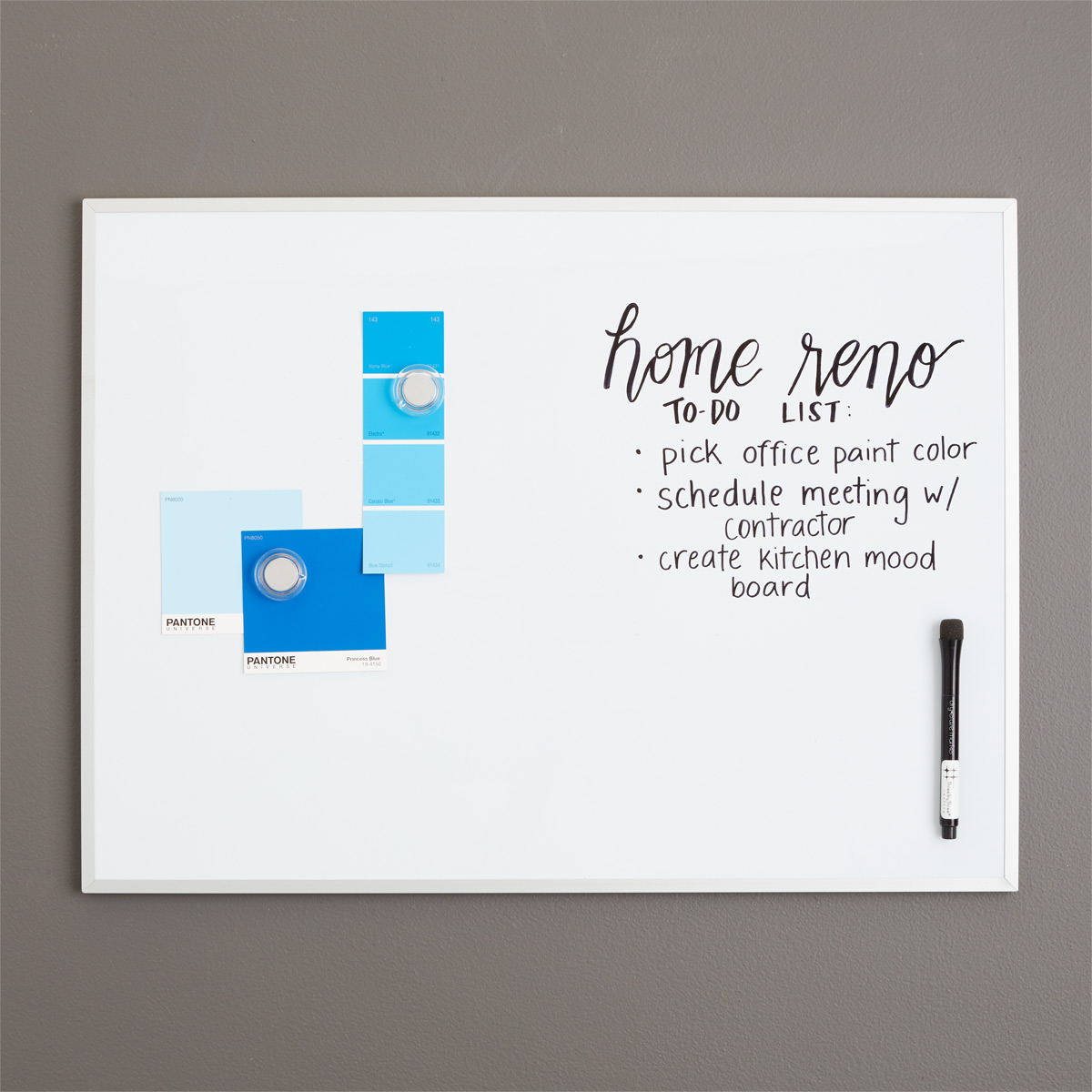Incroyable Three By Three Magnetic Dry Erase Board