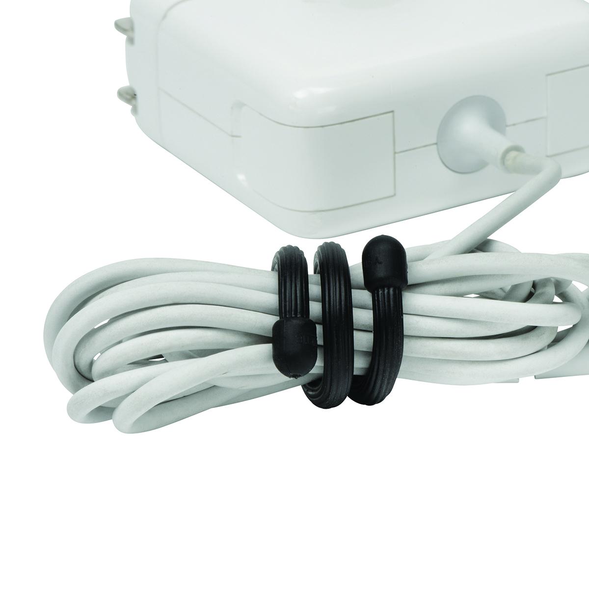 24-Inch Nite Ize Gear Tie Reusable Rubber Twist Tie 2-pack GT24-2PK-28 Forest Green