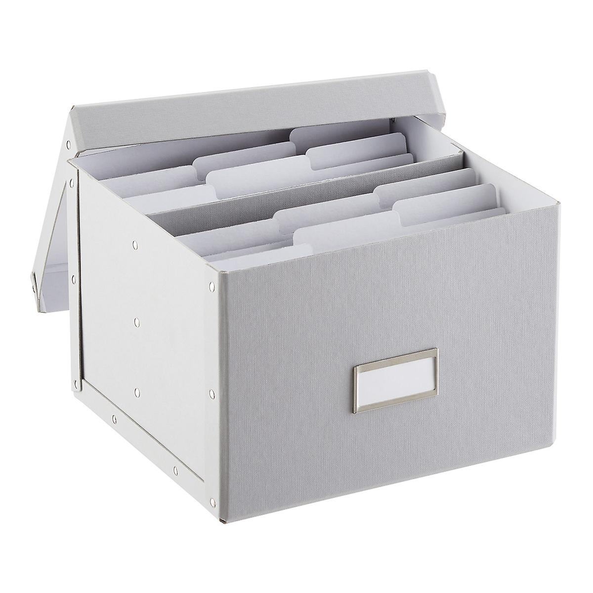 Card Organizer Bigso White Greeting Card Organizer The Container