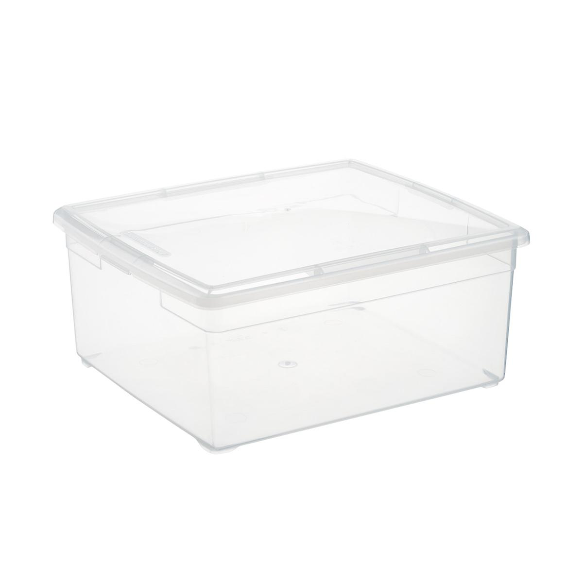 Clear Plastic Storage Boxes Our Clear Storage Boxes The