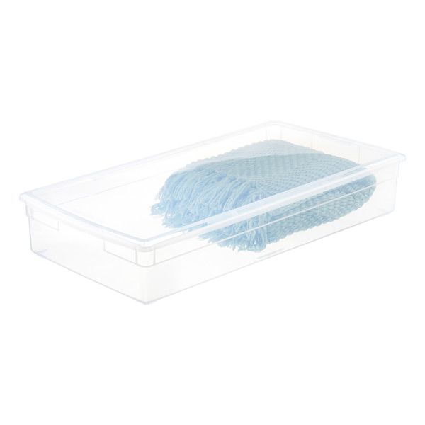 Our Long Under Bed Box The Container, Extra Long Plastic Storage Boxes