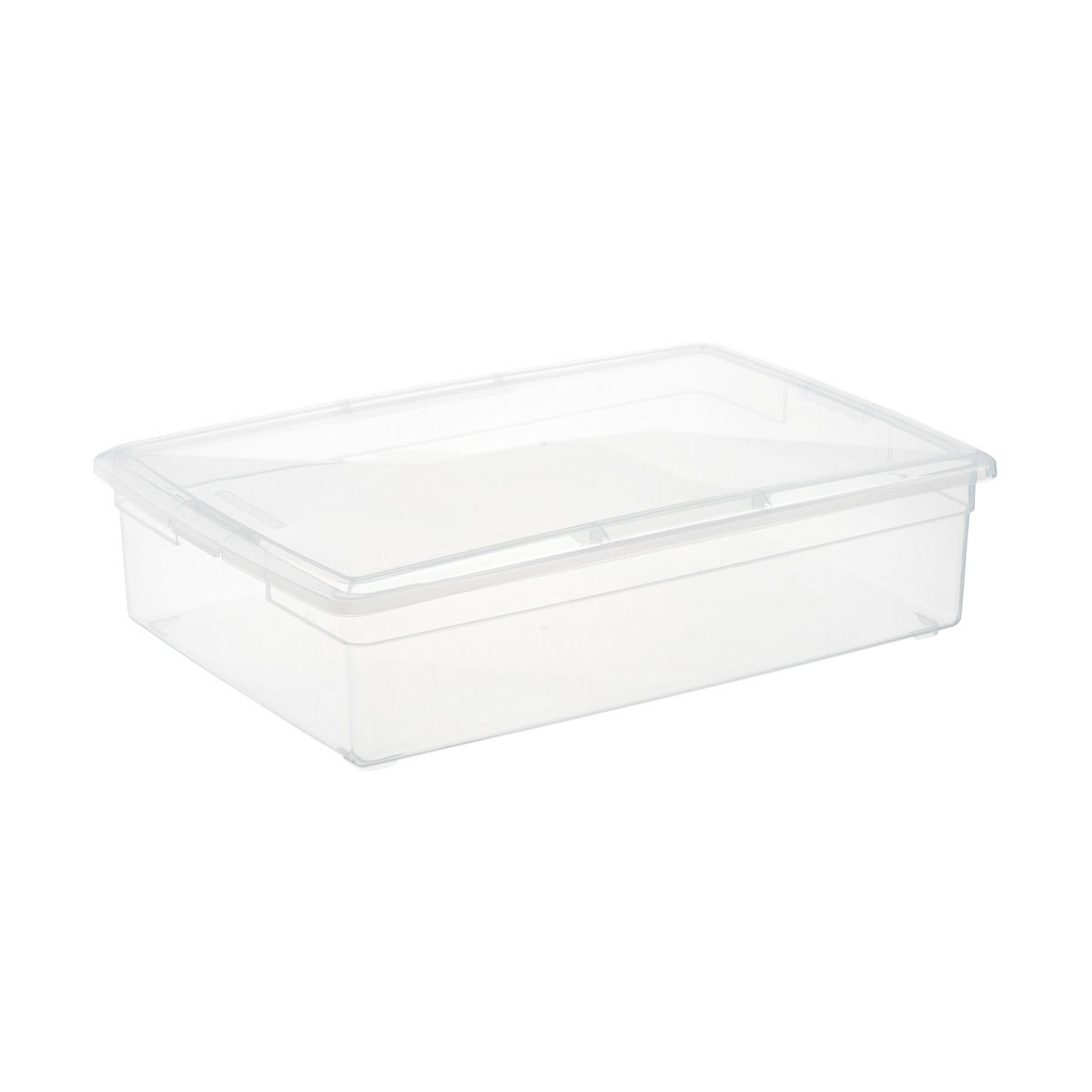 Attrayant Clear Plastic Storage Boxes   Our Clear Storage Boxes | The Container Store