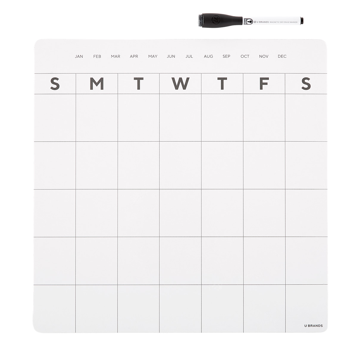 magnetic utility cup black or white organization school supplies NEW